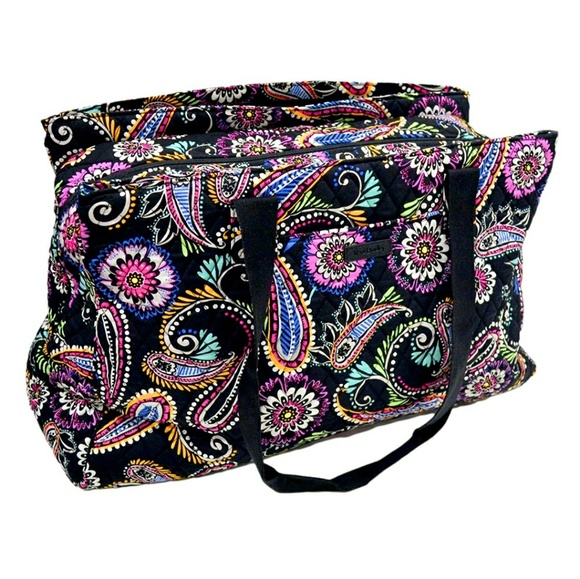 Vera Bradley Triple Compartment Travel Bag. M 5accf006c9fcdfa79fe9e6df e390a02c7f
